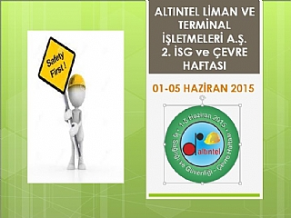 Labor Safety Week 2015